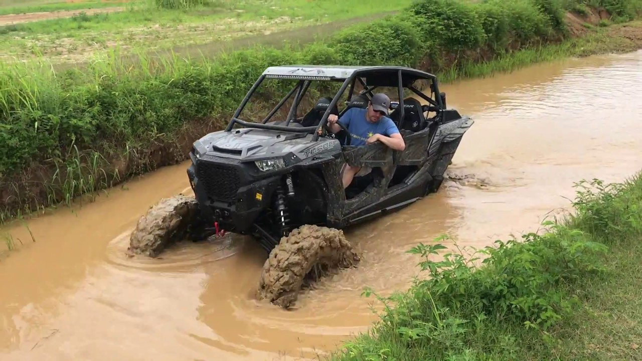 Polaris Ranger 4 Seater >> 2017 RZR Turbo With 6' Portals & 40 Inch Tires - YouTube