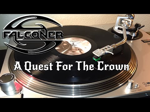 Falconer - A Quest For The Crown - Black Vinyl LP