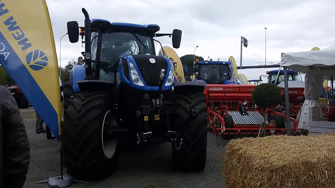 fiera a roma romana diesel trattori new holland and case