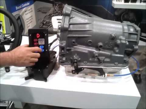 Powertrain Control Solutions at SEMA: GSM Paddle Shifter