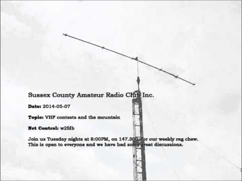 2014-05-06 - Sussex County Amateur Radio Club Inc. - 2M Net (RECAP)