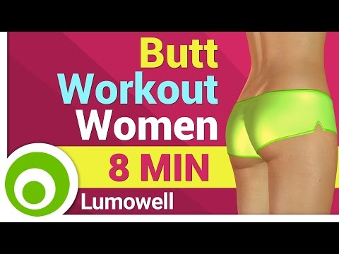 Butt Workout for Women at Home