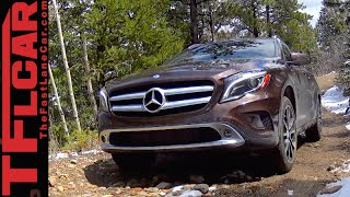 2015 Mercedes-Benz GLA250 4MATIC Muddy & Rocky Off-Road Review Video