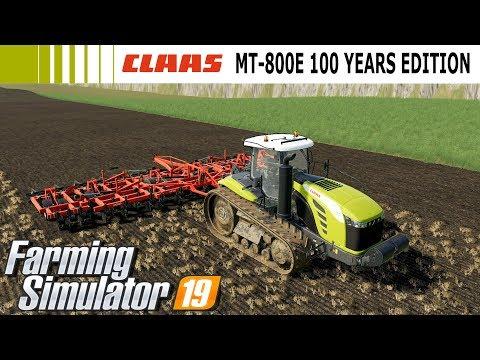 Farming Simulator 19 Mod Video Review Claas MT800E 100 Jahre Claas Edition