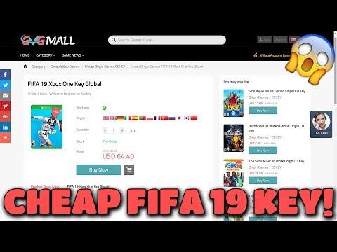 HOW TO BUY FIFA 19 CD KEY CHEAPLY!  😱 GVGMALL