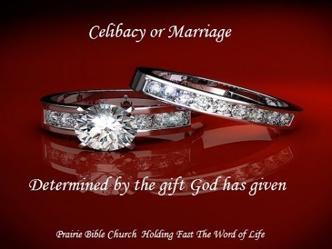 marriage divorce and celibacy Some 'super-spiritual' corinthians thought themselves too spiritual for sex and marriage paul discusses marriage, grounds for divorce, and advantages of celibacy.