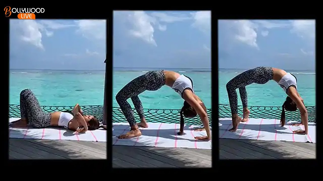 YOGA QUEEN: Shilpa Shetty Doing Yoga Exercise |  Fitness Workout | Bollywood Live