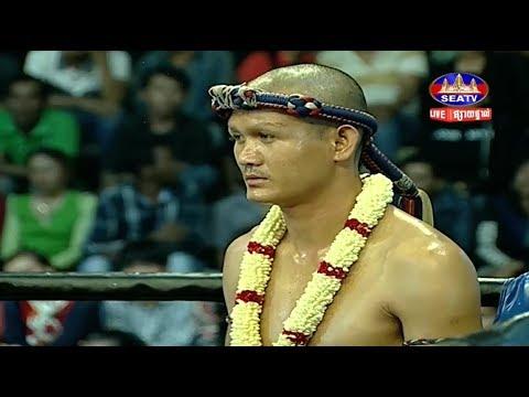 Kim Veasna vs kengkat(thai), Khmer Boxing Seatv 20 May 2018, Kun Khmer vs Muay Thai