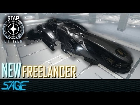 Star Citizen, The New Freelancer (Walkthrough/ Extremely close look)