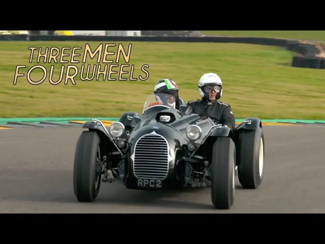 Driving the Stovebolt Special   Three Men Four Wheels