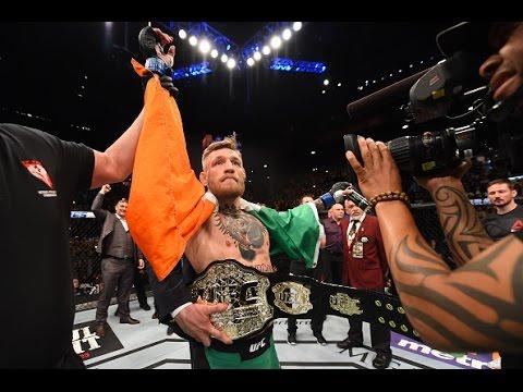 UFC 194: Conor McGregor and Jose Aldo Octagon Interview
