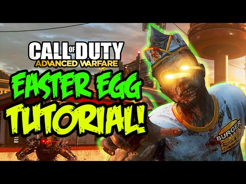 """Exo Zombies"" - FULL EASTER EGG TUTORIAL - Infection DLC Main Easter Egg Guide (Advanced Warfare)"