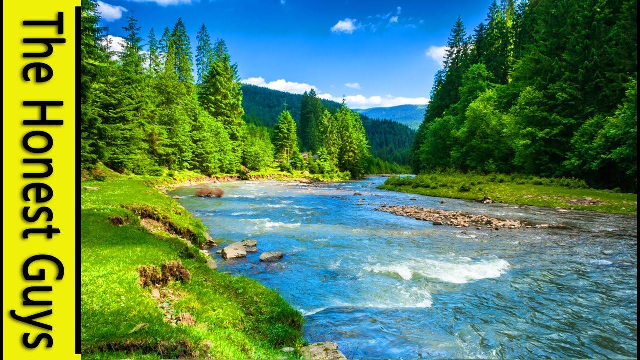 9 Hours Nature Sounds River In The Shire Relaxation No