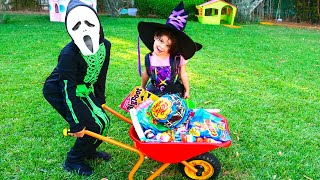 SAMI Pretend Play Halloween Trick or Treat Candy Park
