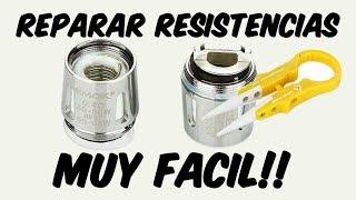 Gambar cover COMO REPARAR RESISTENCIAS QUEMADAS