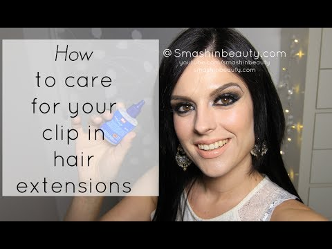 Clip in hair extensions 101 how to wash dye store stop clip in hair extensions 101 how to wash dye store stop shedding dirty looks extensions pmusecretfo Choice Image