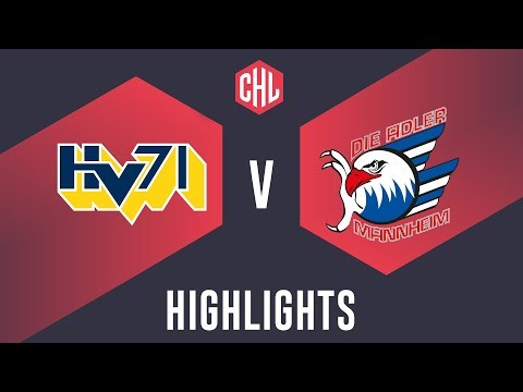 Highlights: HV71 Jönköping vs. Adler Mannheim