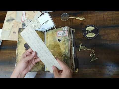 Sherlock Holmes Concept Junk Journal - HandicraftsBN -Detective -Brunei