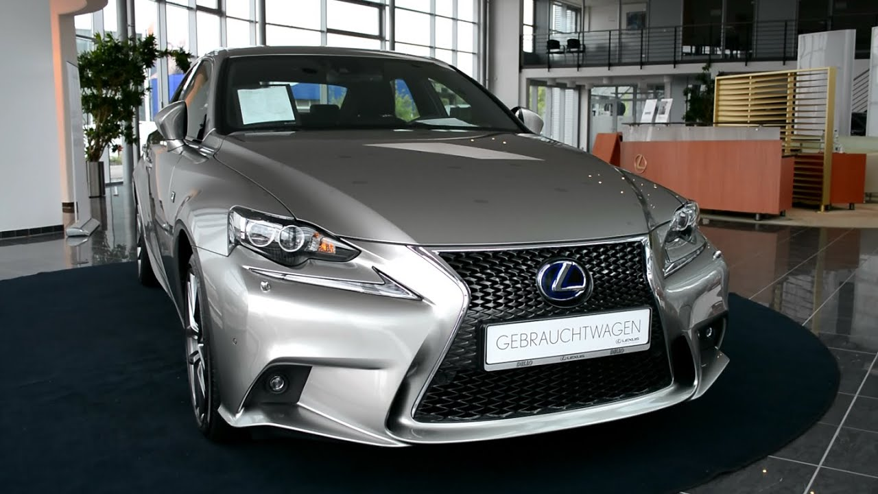 2014 new lexus is 300h f sport hybrid xe3 youtube. Black Bedroom Furniture Sets. Home Design Ideas