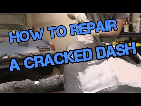 Repairing a Cracked Vinyl Dashboard PART 1