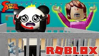 ESCAPE EVIL BABYSITTER IN ROBLOX ! Jouons avec Combo Panda