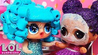 Что то пошло не так в салоне красоты. Мультик куклы ЛОЛ сюрприз. Stop motion animation LOL surprise