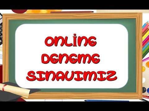 4.Sınıf Online Deneme Sınavı-Yardımcı Öğretmen