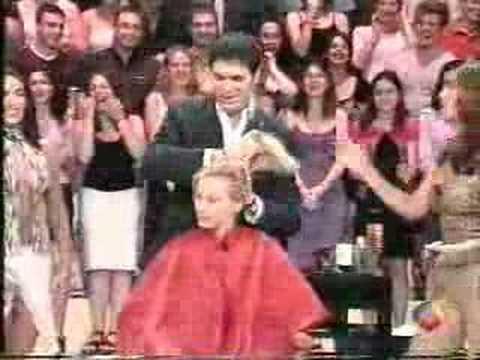 spanish gameshow haircut  girl 1 1 of 2  youtube