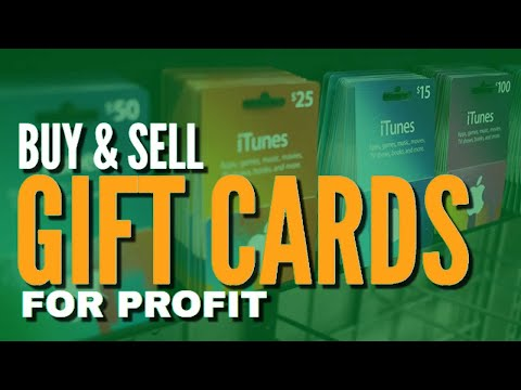How To Buy And Sell Gift Card For Cash Or Bitcoin [Make Money Online]