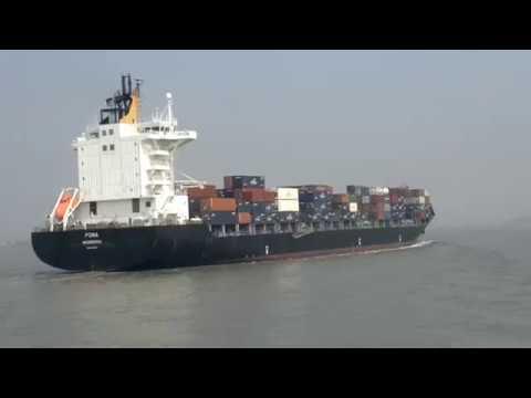 MEGA SHIP WENT TO JNPT MUMBAI