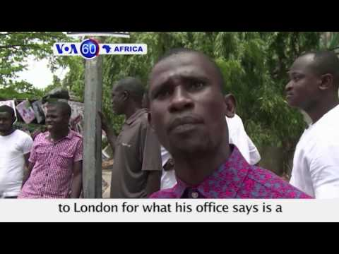 Nigeria's Buhari Meets With 82 Freed Chibok Girls  - VOA60 Africa 5-8-2017