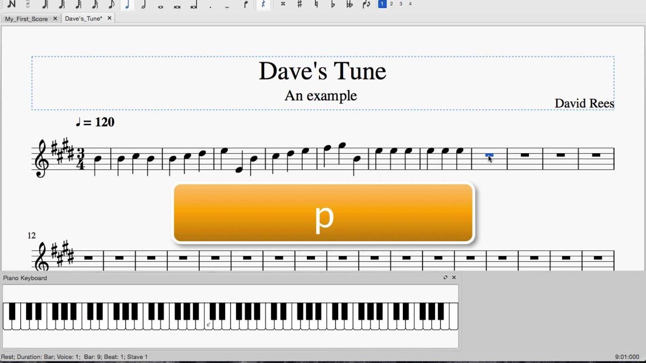 Using a MIDI Keyboard | MuseScore Crash Course