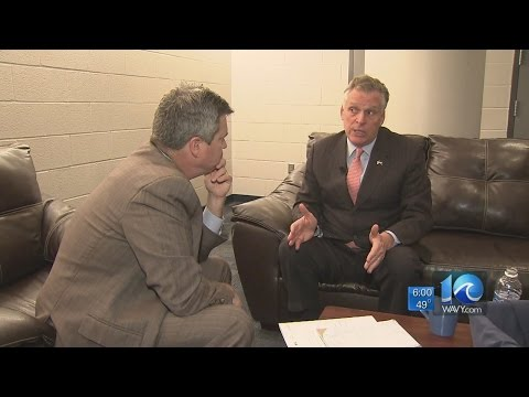 Andy Fox breaks down his interview with Gov. Terry McAuliffe