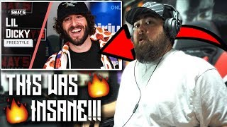 RAPPER REACTS to Lil Dicky Freestyle on Sway In The Morning | SWAY'S UNIVERSE