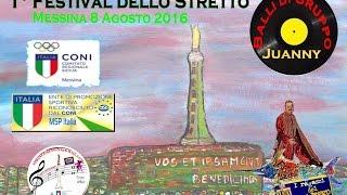 Festival dello Stretto - Balli di Gruppo - Messina ospita Juanny RBL