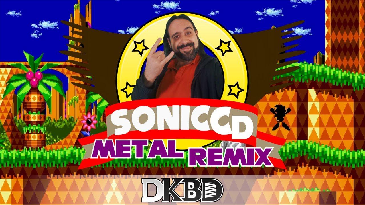 Sonic CD - Palmtree Panic Chiptune-METAL Remix (JP)