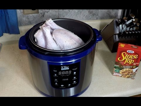 A Whole Turkey in a Pressure Cooker