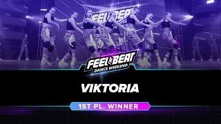 Viktoria // 1st Place — Hip-Hop - Mega Crew - Juniors - Rising // #FeelTheBeat 2019