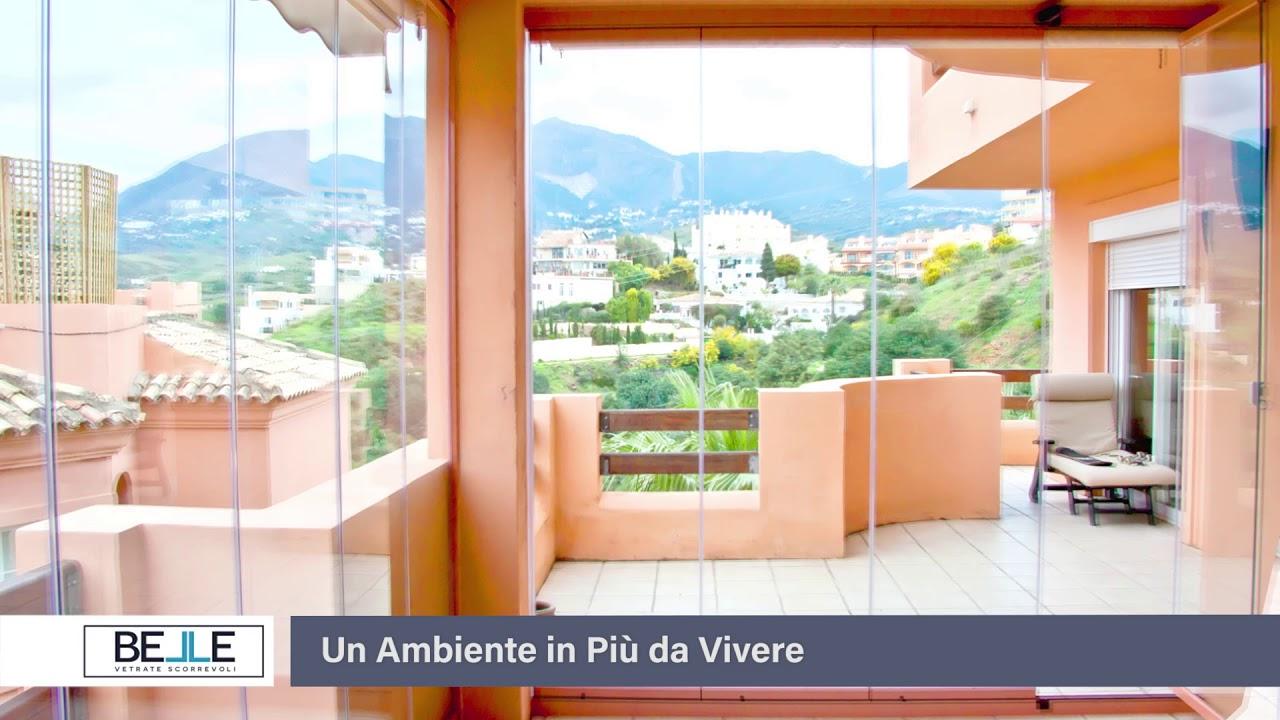 Belle vetrate scorrevoli un ambiente in pi a casa tua for Le belle vetrate scorrevoli