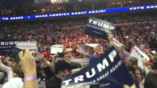 Protesters Dragged Out of Donald Trump Rally in Buffalo, NY