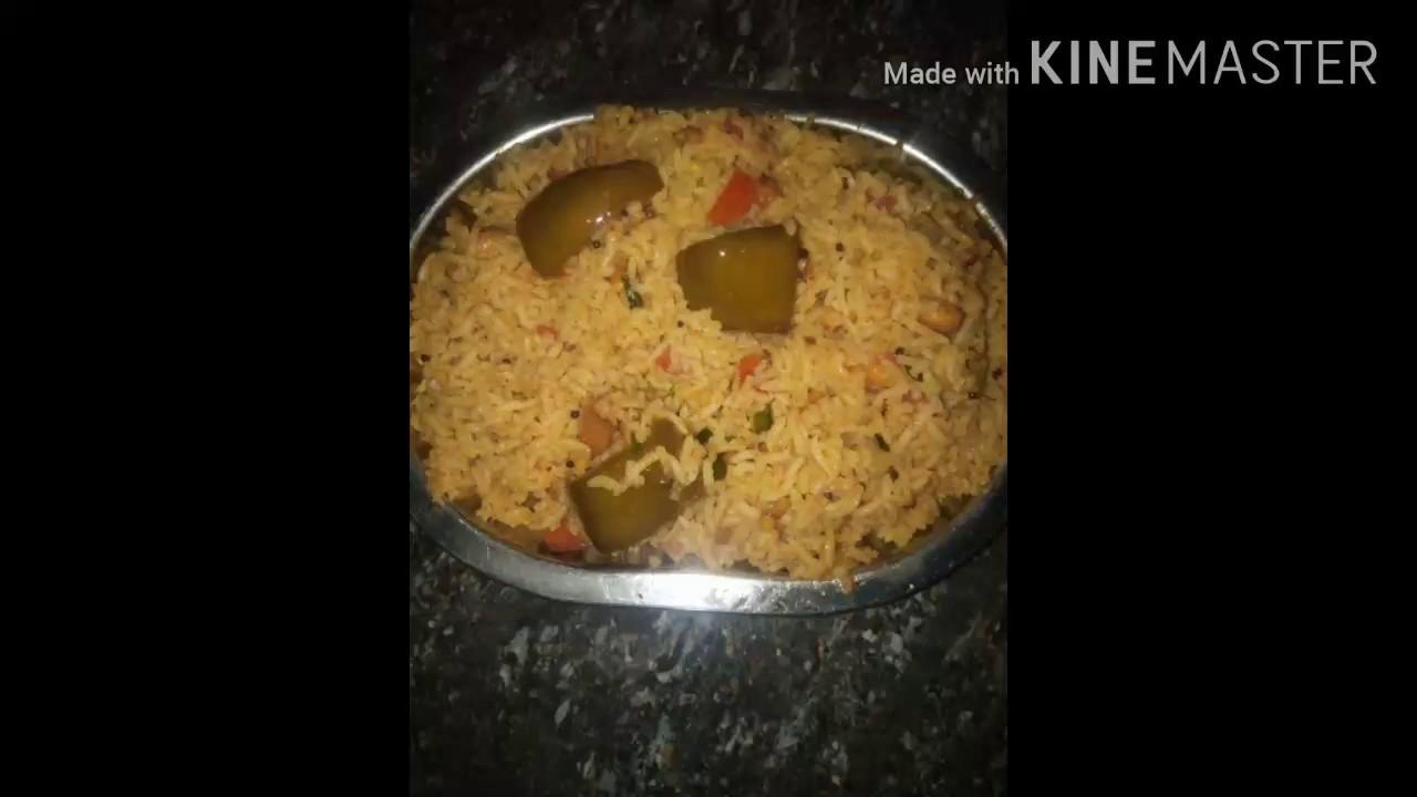 ఆవకాయ పచ్చడి పులిహోర /Spicy pulihora in just 5mints/Aavakai pulihora