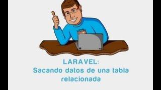 Tutorial Laravel: Sacando datos de una tabla relacionada