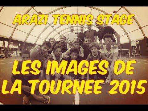 Arazi Tennis Stage - La tournée 2015 en images !