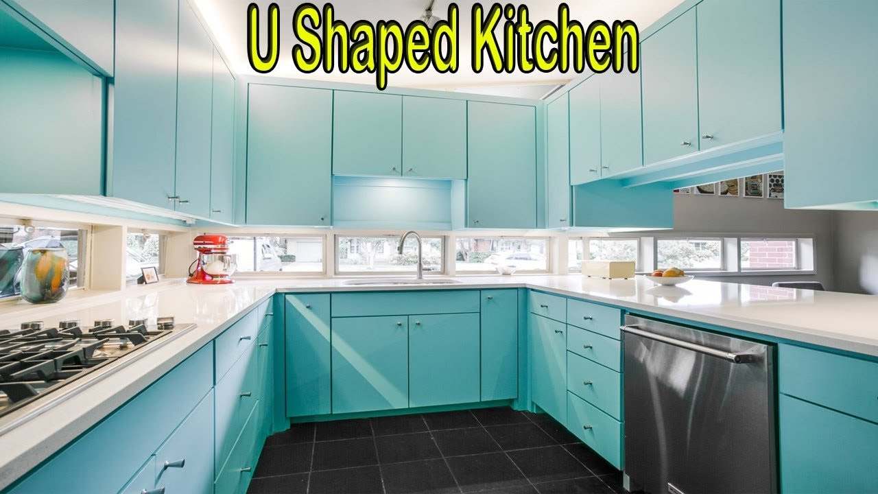 U Shaped Kitchen Design Ideas Modern Small Layouts