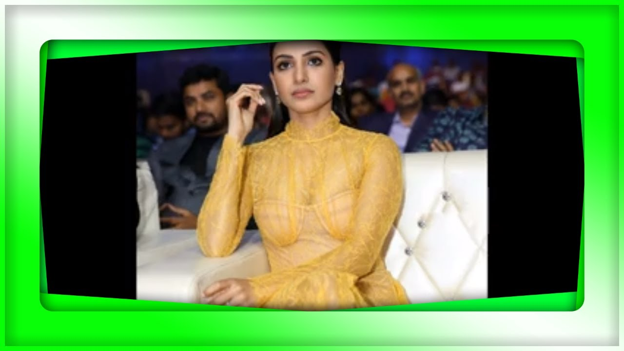 పండగ పూట ఇదేం పాడు పని..Akkineni Samantha stunning look in Netted Yellow Dress | Kusuma Telugu Vlogs
