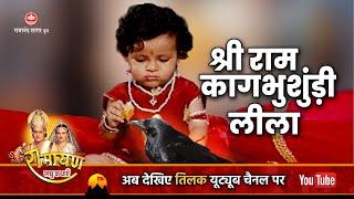 रामायण कथायें - श्री राम और कागभुशुंडि की बचपन लीला । Shri Ram Kaag Busandi Leela