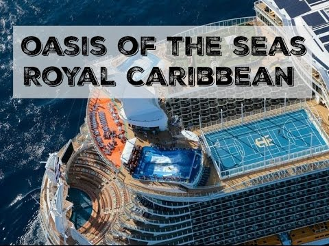 Oasis Of The Seas Mega Cruise Ship By Royal Caribbean