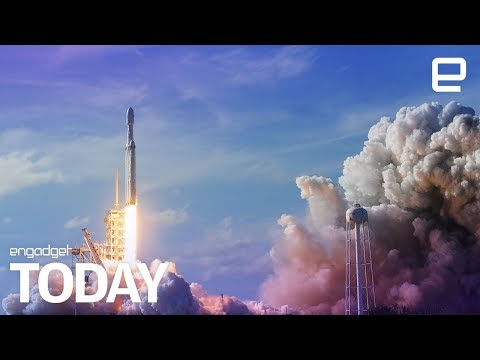 Space X loses its Falcon Heavy core during maiden voyage | Engadget Today