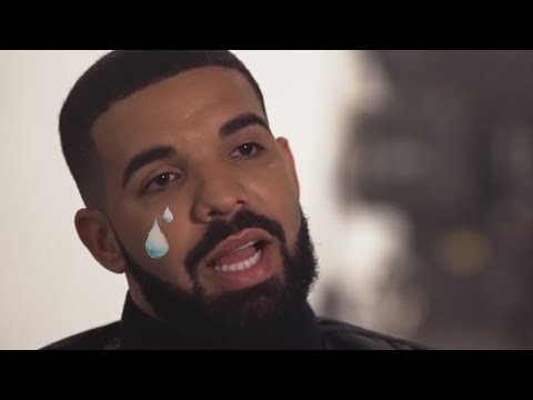 Drake being over emotional for nearly two minutes straight