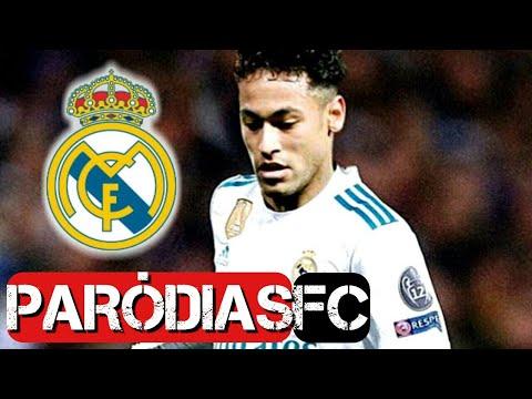 ♫ NEYMAR NO REAL MADRID!!! | Paródia Nocaute - Jorge e Mateus